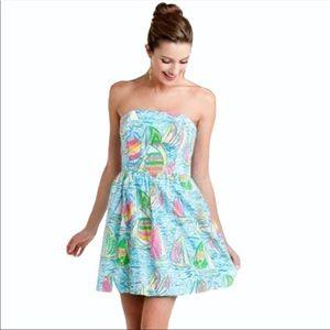 Lilly Pulitzer Lottie Dress in You Gotta Regatta